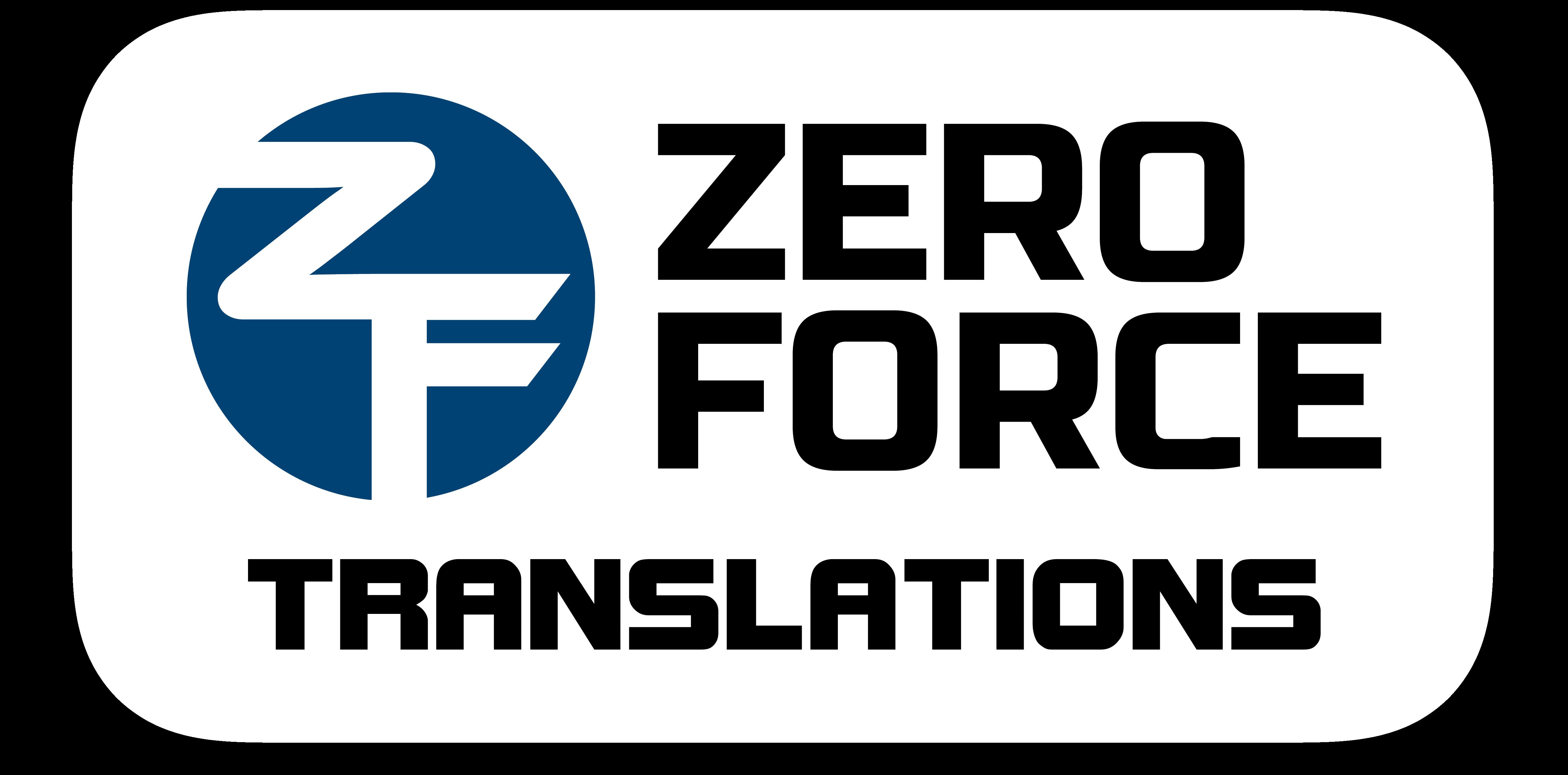 Zero Force Translations